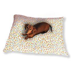 Uneekee Nordic Summer Bloom Dog Pillow Luxury Dog / Cat Pet Bed