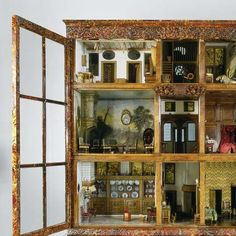 Dolls' house of Petronella Oortman, anoniem, c. 1686 - c. 1710 - Dolls houses - Works of art - Explore the collection - Rijksmuseum (jt- love these rooms! click through for full view)