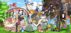 Ghibli - Finish Work by *Hyung86 on deviantART