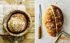 Flora Shedden's classic sourdough and turmeric bread