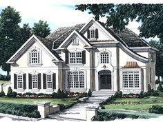086H-0098: Sunbelt Luxury House Plan