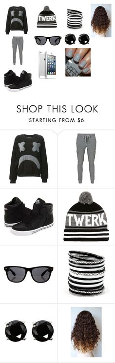 """""""#001"""" by powell-cici ❤ liked on Polyvore featuring Daniel Palillo, James Perse, Supra, River Island, All Day and Coast"""