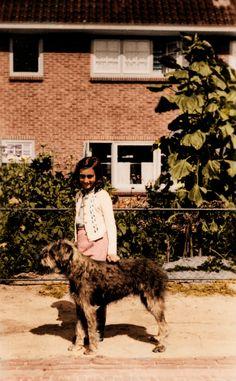 Anne Frank with Dopy by Color-Her-World.deviantart.com on @deviantART