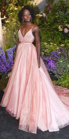 Major Celebrity Looks from the Cannes Red CarpetLupita Nyong'o is red carpet royalty in a Prada gown fit for a princess (which, duh, she is!) at the Chopard Secret Night party on May Celebrity Looks from the Cannes Red CarpetAdama Bah adamak Red Carpet Fashion, Pink Fashion, Fashion Show, Style Fashion, Tokyo Fashion, Womens Fashion, Celebrity Red Carpet, Celebrity Look, Beautiful Dresses