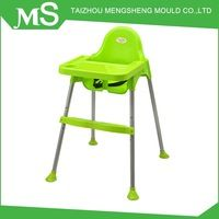 Wholesale OEM Service Good Quality Plastic Chairs With Metal Legs