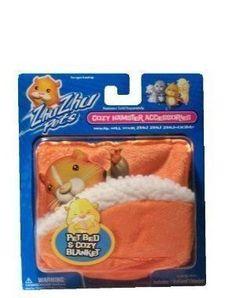 Zhu Zhu Pets/GoGo Pets Hamster Blanket and Bed - Orange by Cepia LLC. $5.97. Zhu Zhu Pets Hamster - Carrier and Blanket - Orange. Save 15% Off!