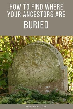 One of the biggest genealogical frustrations I hear from you in emails, is being unable to find an ancestors place of burial. Either online or in an actual place. Lets look at 8 sources of information to determine where your ancestor may have been buried.