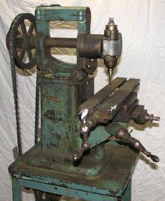 antique milling machine - Google Search