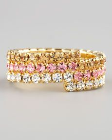 Lisa Freede Triple-Wrap Stretch Eternity Band (CUSP Most Loved!)