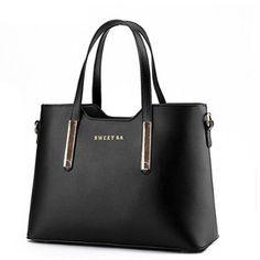 Fashion Road PU Leather Womens Shoulder Bags Top-Handle Handbag Tote Purse Bag - http://bagbucket.com/fashion-road-pu-leather-womens-shoulder-bags-top-handle-handbag-tote/