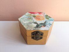 caixa com tampa vitrificada