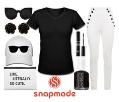 """""""simple sunday"""" by j-n-a ❤ liked on Polyvore featuring Tommy Hilfiger, Essie, Erica Lyons and MAKE UP FOR EVER"""