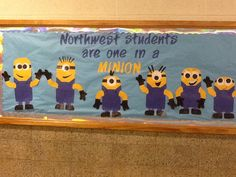 Back to school bulletin board   @Karen Finklea   Great for you two maybe?