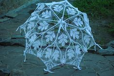 Umbrella with diagram