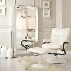 INSPIRE Q Omni Beveled Mirrored Frame Rectangular Floor Mirror - Overstock Shopping - Great Deals on INSPIRE Q Mirrors