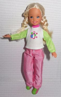 *DRESSED STACIE ~ MATTEL BLONDE BOWLING PARTY DOLL DOLL FOR OOAK DIORAMA #Mattel #Dolls