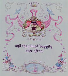 Fairy tales do come true. (ending pages of fairy tales framed? every fairy tale's happily ever after? Walt Disney, Disney Magic, Disney Art, Disney Pixar, Disney Girls, Disney Love, Disney Style, Animation Disney, Cinderella Castle