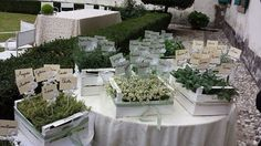 Tableau mariage with herbs  My lovely wedding 20 September 2014 Villa Valmarana along the Brenta river Venice surroundings