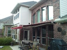 Motorized SunSetter Retractable Awning 13' Woven Acrylic from DunRite Playgrounds http://www.dunriteplaygrounds.com/store