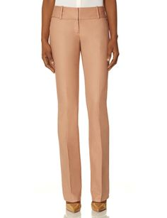 Cassidy Cotton Piped Bootcut Pants from THELIMITED.com