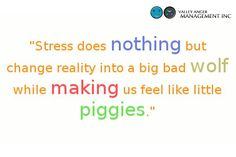 Stress actually feels like nothing. Get rid of your stress now, before it demeans you.