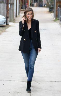 Black Blazer Styled