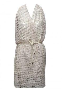 vestido combinação bordada