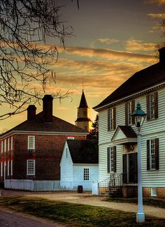 Colonial Williamsburg, Virginia. I would go back and take a tour day or night. :)