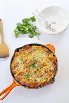 Eggplant-Ricotta Pasta Bake | the pig & quill-used cashew ricotta, no mozzarella  Yum!