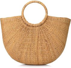 Amazon.com: Woven Straw Bags Summer Beach Tote Bag for Women: Shoes