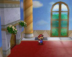 Paper Mario, Nintendo 64. Paper Mario, Mario Bros, Nintendo 64, 2d, Video Games, Tumblr, Graphics, Painting, Design