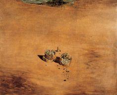 Salvador Dalì - Due pezzi di pane esprimono il sentimento dell'amore, 1940
