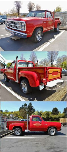 1979 Dodge L'il Red Express Truck. With only 5,118 made, the '79 truck is a rare sight today, but most that survive are in good shape, like the one here