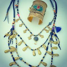 depetra S/S 2013 - cosmic eye cuff,  cosmic eye energy necklace
