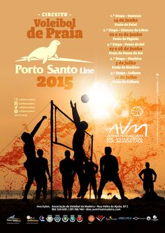Circuito de Voleibol de Praia Porto Santo Line 2015 || #voleibol #voleiboldepraia #beachvolley #beachvolleyball #ilovemadeira #circuito #avm #santana #faial #praia