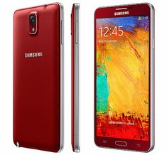 Next year, the Samsung GALAXY Note 3 will be available in two new colors, then get a red and golden Samsung GALAXY Note 3