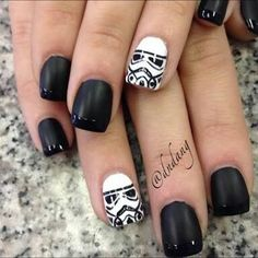Uñas Star wars