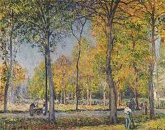 Alfred Sisley The Forest at Boulogne