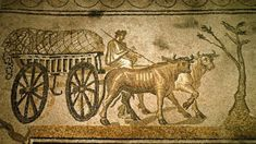 The Roman Mosaics of Orbe consist of eight magnificent mosaic floors that decorated a Gallic-Roman estate dating back to the year 170 a.C. The huge villa rustica had more than 100 rooms - Erstwhile Country Estate - Switzerland