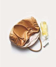 Renegade Lipstick Ruins Purse Liner Did your lipstick go renegade inside your purse, leaving a bright, streaky mess? Help is on the way with these tips to remove lipstick stains from the inside of a purse from @RealSimple  #handbagcare #handbagtips
