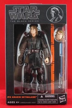 "Anakin Skywalker Star Wars The Black Series Authentic Hasbro 6"" Free Shipping #Hasbro"