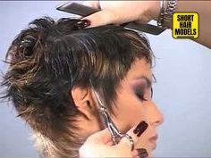 35 Short Haircut Styles for Women for Short Haircut Styles for Women for 2019 For this, the fair sex carefully selects wardrobe items, taking into account the latest fashion trends, as wel. Haircut Styles For Women, Short Haircut Styles, Short Hairstyles For Thick Hair, Short Hair Cuts For Women, Pixie Hairstyles, Long Hair Styles, Short Cropped Hair, Short Hair Model, Short Grey Hair