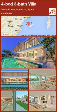 4-bed 3-bath Villa in Santa Ponsa, Mallorca, Spain ►€2,850,000 #PropertyForSaleInSpain