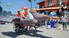 Zany Kinetic Sculpture Parade Commemorates Florida Keys' Rebel ...
