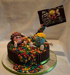 Cake M&m