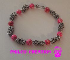 Chainmaille Bysantine mixte