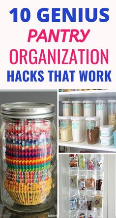 10 ideas for pantry organization – Craftsonfire – Kitchen Pantry Cabinets Designs Kitchen Pantry Cupboard, Small Kitchen Pantry, Free Standing Kitchen Pantry, Kitchen Pantry Design, Kitchen Organization Pantry, Pantry Storage, Organization Hacks, Organization Ideas, Storage Ideas
