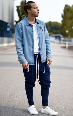Today Im Wearing A Denim Jacket By @urbanoutfitters White Tshirt By @topman, Pants By @enslavedclothing And Shoes By @veja. Rock Your Day :) ----- Follow Me On Instagram As Well https://www.instagram.com/achmedlachned/ ---- #veja #outfit #water #urbanoutfitters #enslaved #clothing #men #streetstyle #topman #ootd #lookoftheday #fashion #menswear #simple #denim #austria #vienna #street