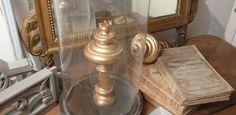 Embrasses de rideaux en bois doré d'époque XIXème