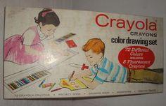 I had this crayola box set in 1965